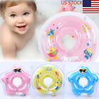 US Infant Baby Swimming Ring Pool Inflatable Swim Circle Neck Float Safety Bath
