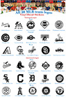 Baseball Vinyl Decal Stickers Car Window National American League Sport MLB logo