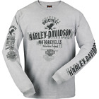 Harley-Davidson Men's  Double Image Long Sleeve Pocket Tee R002422 $40.0 USD