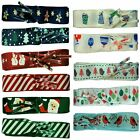 TZ Laces® Branded Flat Christmas Ribbon shoelaces for fashion shoes