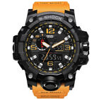 SMAEL Waterproof Sports Military Watches Shock Men