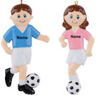 MAXORA Personalized Soccer Girl Soccer Boy Ornament