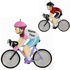 MAXORA Personalized Christmas Ornament Bicycle Boy Bicycle Girl  Holiday Gift