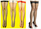 AU SELLER Sexy Lace top Large Net stockings Thigh High Multiple Colour hos097