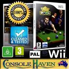 (Wii Game) King Of Pool (G) (Sports: Billiards / Snooker) PAL, Guaranteed $10.9 AUD on eBay