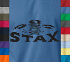 STAX Records Music Label Soft Cotton T-Shirt Retro Vintage USA American Soul Tee image
