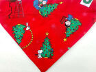 Christmas Red Snoopy  Peanuts Dog Bandana, over the collar Scarf  XS- XXL
