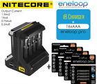 Nitecore i8 Smart Charger / Panasonic eneloop pro AA / AAA Rechargeable Battery