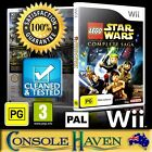 (Wii Game) LEGO Star Wars: The Complete Saga (PG) PAL, Guaranteed, Cleaned