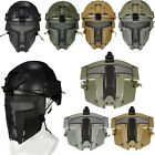 Tactical Airsoft SPT Steel Mesh Full Face Mask Sparta Tactic