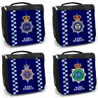 British Police PC Wash Bag Blue Line Toiletry Grooming Case *Personalised* Gift