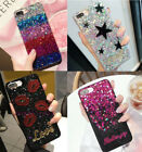 Fashion Lovely Bling Sparkle Glitter Soft Gel Case Cover For iPhone X 6 7 8 Plus