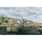 Harbour at Crail in Fife - C Madgwick Print