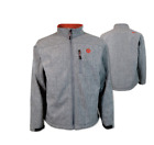 HOOEY HJ048GY Mens Gray and Red Softshell Jacket Free shipping!!