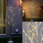 Warm White Silver Birch Twig Tree LED Branches Light Home Garden Decor