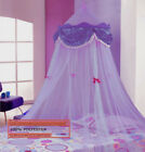 PERFECT PRINCESS BED CANOPY MOSQUITO NET with Sequins  FREE SHIPPING FROM USA image