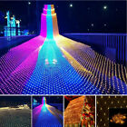 LED String Fairy Lights Net Mesh Curtain Chrismas Wedding Party Home Decoration