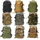 40L Every Day Carry Tactical Assault Bag 3D EDC Day Pack Backpack 600D Oxford