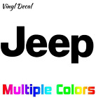 Jeep Logo Decal Sticker | Wrangler TJ Die Cut Vinyl Decal *Multiple options*