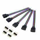 LED Accessories 4pin DC Connector Adapter Extension Cables for RGB Strips 3528