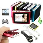 "Digital MP3 Music 1.8"" LCD Screen Media Video Movie Radio FM 6th MP4 Player MT"