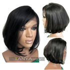 Short Cut Human Hair Lace Front Full Lace Wigs Fashion Style For Women