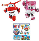 SUPER WINGS Party Supplies DECORATION BIRTHDAY Tableware Balloons