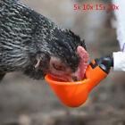 Lot Poultry Water Drinking Cups- Chicken Hen Quail Plastic Automatic Drinker SGS