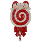 MAXORA Lollipop Family of 2 3 4 5 Personalized Christmas Ornament