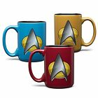 Star Trek Exclusive Next Generation Sciences Mug **Blue / Red / Yellow ** on eBay