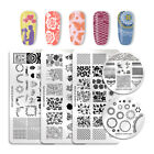plates for decoration - NICOLE DIARY Nail Art Stamping Plates Image Templates Tips Decoration Collection