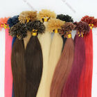 Pre Bonded Nail/U Tip Remy Human Hair Extensions Straight 16inch 0.4g/s 100S
