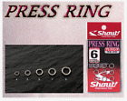 Shout 74-PR Press Ring Standard Solid Ring Tackle Jigging Fishing All Sizes