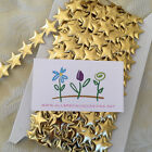CUTE LIGHTLY QUILTED GOLD STAR 20mm BRAID RIBBON TRIM TRIMMING CHRISTMAS