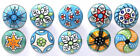 Sky Blue Green Ceramic Drawers Knobs Door Cupboard Pulls Knob only ships to USA