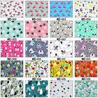 ECO PUL COTTON FABRIC AIO DIAPER COVER BIB BABY WATERPROOF BAG TABLETOP 51 COLOR