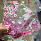 Luxury Glitter Flower Powder Phone Case Cover for iphone 6/6S/7/8/7Plus/8Plus
