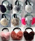Luxurious soft adult ear muffs - large ear muffs great for thick hair or dreads