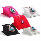 chain holder - Velvet Holder Necklace Pendant Chain Jewelry Display Stand Show Rack Innovation