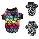 EP Small Pet Dog Cat Puppy Warm Sweater T Shirt Vest Costume Skull Clothes Exot