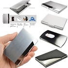 NEW Stainless Pocket Business ID Credit Debit Card Wallet Purse Holder Case Box