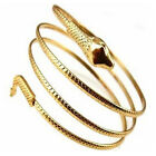 Ep_ Punk Coiled Snake Spiral Upper Arm Cuff Armlet Armband Bangle Bracelet Utili