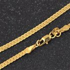 """Fashion Women Men 18k Gold Plated Rope Chain Necklace Jewelry Gift 18-26"""""""