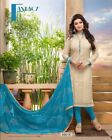 Indian Pakistani Designer Ethnic Salwar Kameez Suit Party Wear Dress XL 1