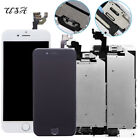 For iPhone 6 6Plus Complete Touch Screen Replacement LCD Digitizer + Home Button