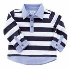Mud Pie Baby Boys Rugby / Oxford Layered Shirt Size 12M-5T #1052231