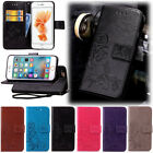 New Clovers Embossed Magnetic Card Wallet PU Leather Case Cover For Latest Phone