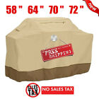 """BBQ Grill Cover 58"""" 64"""" 70"""" 72"""" Gas Barbecue Heavy Duty Waterproof Outdoor US EO"""