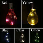 Waterproof Solar Powered Auto Rotatable Outdoor Garden Hanging LED Light Lamp Se