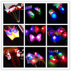 New Unisex Girls Fashion Ears Style Glowing Concert Head Band Props Accessories